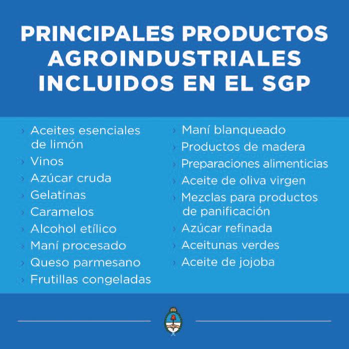 Más de 700 productos argentinos ingresarán a Estados Unidos con arancel cero