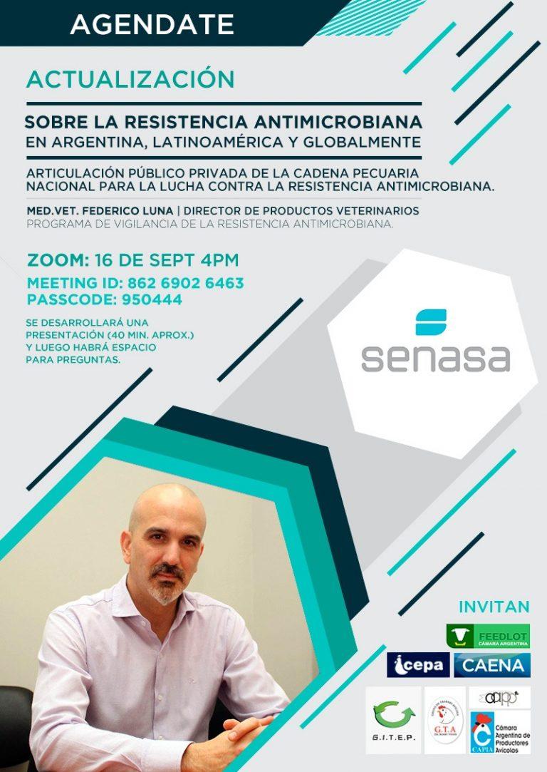 16/9 Seminario SENASA sobre resistencia microbiana