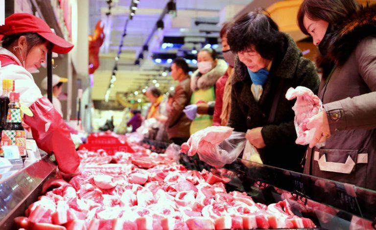 La recuperación de la industria porcina de China